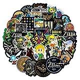 50pcs Zelda Vinyls Stickers Laptop Sticker...