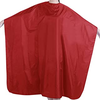 cici store 1Pc Professional Adult Waterproof Salon Hair Cut Hairdressing Barbers Cape Gown Cloth (Red)