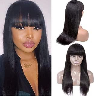 Healthair Brazilian Straight Virgin Human Hair Wigs 16