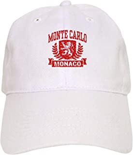 Monte Carlo Monaco - Baseball Cap with Adjustable Closure, Unique Printed Baseball Hat