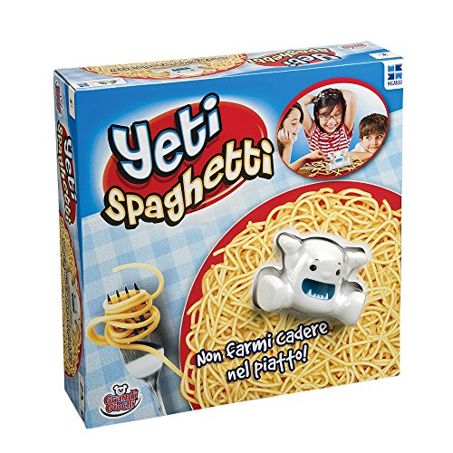 Grandi Giochi Yeti Spaghetti, MB678571, Mehrfarbig