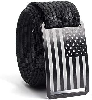 Web Belts for Men & Women- Adjustable Nylon Belt by GRIP6