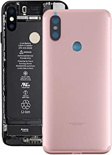 Battery case Jrc Back Cover for Xiaomi Mi 6X / A2(Black) Mobile phone accessories (Color : Pink)