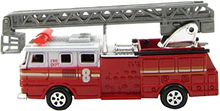 TreasureGurus, LLC 1:87 Scale HO Gauge Fire Engine Ladder Truck Model Train Accessory Pencil Sharpener