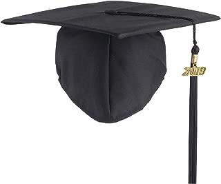 Graduation Unisex Matte Adult Graduation Cap with Tassel 2019