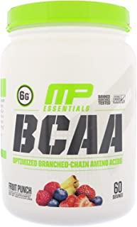 BCAA Optimized Branched Chain Amino Acids Essentials Fruit Punch 1.14 lbs 516 g