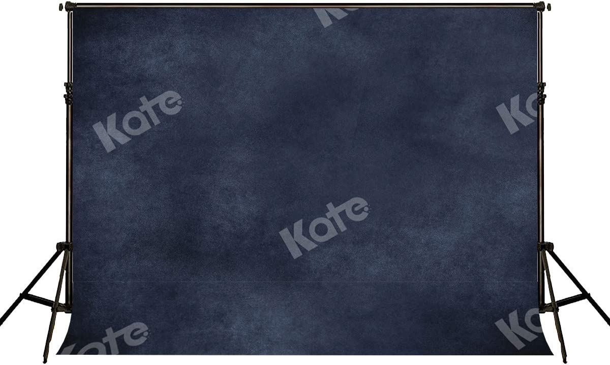 Kate 10x6.5ft Dark Blue Photo Backdrop for Photographer Abstract Photography Background Portrait Photo Studio Props