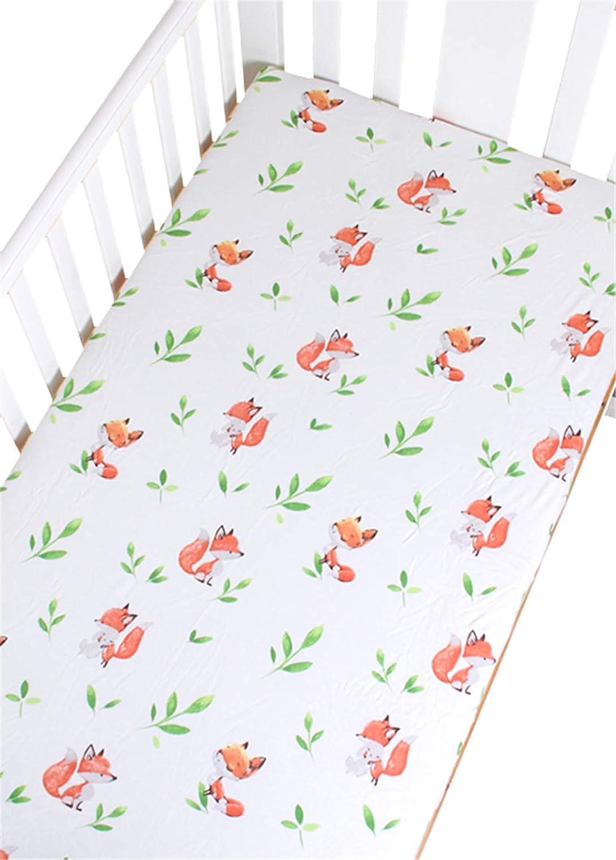 Baby Bedding Rose Haiyisugar Cot Bed Fitted Sheets Crib Sheets Soft 100/% Organic Cotton Crib Mattress Sheet