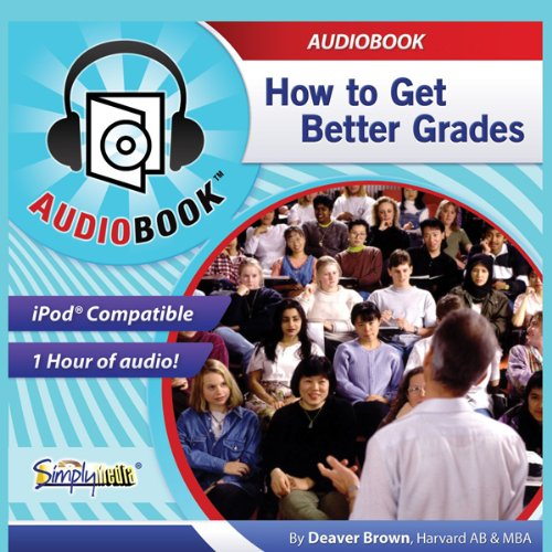 How to Get Better Grades audiobook cover art