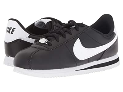 Nike Kids Cortez Basic SL (Big Kid) (Black/White) Kids Shoes