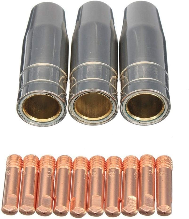 LOPQOI 13Pcs 0.8mm Welding Torch Aircooled Trust C Mig MB Dallas Mall 15AK CO2 for