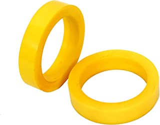 yellow napkin rings