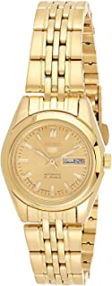 SEIKO Women's Automatic Watch, Analog Display and Stainless Steel Strap SYMA38J1