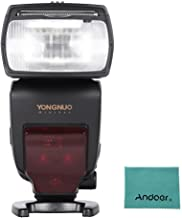 YONGNUO YN685 i-TTL HSS 1/8000s GN60 2.4G Flash para Nikon D750 D810 D7200 D610 D7000 D5500 D5200 D5300 D3300 D3200 DSLR Cámara + Andoer Paño de Limpieza