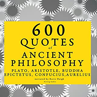600 Quotes of Ancient Philosophy cover art