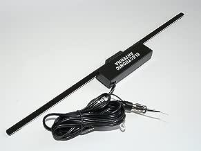 2.2 m Kabel Plus LED Autostyle AS AN17 Scheibenantenne Universal Verst/ärkt