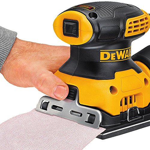 DEWALT Electric Sander, 1/4-Inch Sheet, Orbital (DWE6411)