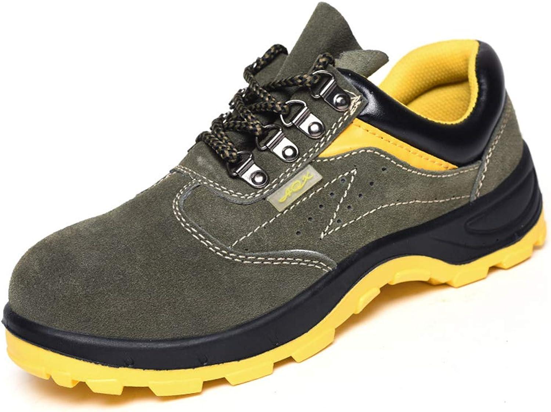 ZSXWIN Women Men Work Steel Toe Safety shoes Composite Predect Unisex