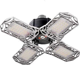 LED Garage Light B22 Bayonet Bulb 80W Ceiling Lights Fixtures for Workshop
