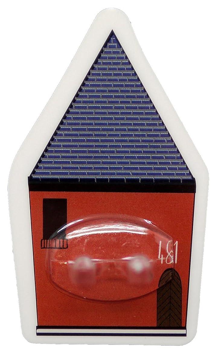 最小反逆音PALAS & DECORE LUONNOS Nordis(ノルディス) マジックシートフック ハブラシホルダー ハウスレッド NRD-10 B