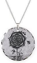 CafePress Rosicrucian Mystical Symbol Charm Necklace with Round Pendant