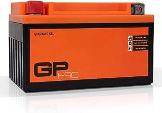 comprar comparacion GP-PRO GTX7A-BS - Batería de arranque para scooter y motos, 12V, 7Ah, parecido a YTX7A-BS / 50615, sin necesidad de manten...