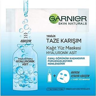 Garnier Taze Karışım Hyaluronik Kağıt Yüz Maskesi 1 Paket