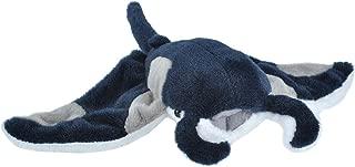 Wild Republic Manta Ray Plush, Stuffed Animal, Plush Toy, Gifts for Kids, Cuddlekins 8 Inches