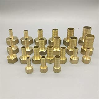 Female Thread Push In Fitting For Air Pipe Joint Adapter 1//8 1//4 3//8 1//2 Sturdy 10pcs OD 4MM 6MM 8MM 10MM 12MM Pneumatic Connector Color : PCF 10MM x 04