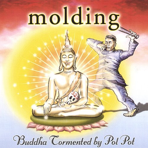 Buddha Tormented By Pol Pot by Molding