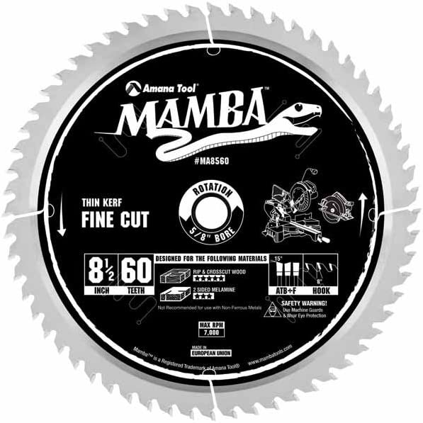 MAMBA - by Amana Tool Fine 5 ☆ popular 8-1 2