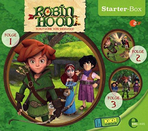 Robin Hood - Schlitzohr von Sherwood - Starterbox 1 - Das Original-Hörspiel zur TV-Serie