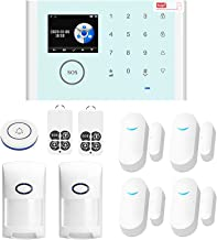 Sazoley CS118 WiFi+GSM+GPRS 3 IN 1 Network Intelligent Home Alarm System APP Remote Control 433MHz Home Secure Door Bell S...