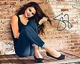 FRAME SMART Selena Gomez #3 | Signature réimprimée | Taille 10x8 pour Adapter Les Cadres 10x8 Pouces | Qualité d?Impression Photo | Affichage Photo | Présent, Cadeau, pour Les Collections