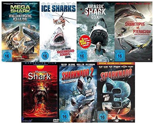Monster Shark Box Edition (mit 10 Hai Film Klassiker) [8 DVDs]