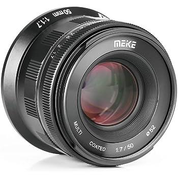 Meike 50mm F1.7 Full Frame Manual Focus Prime Lens for Canon RF Mount Cameras EOS-R EOS-RP