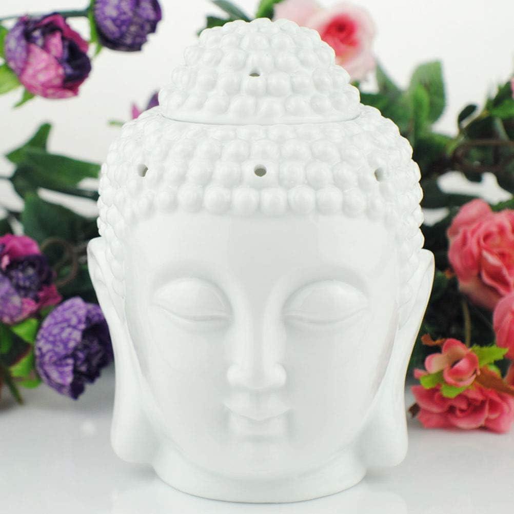 tibetisches R/äucherst/äbchen Buddha-Kopf Buddha /ätherisches /Öl schwarz indischer R/äucherst/äbchen Aroma Mayco Bell Duftlampe f/ür Aromatherapie S