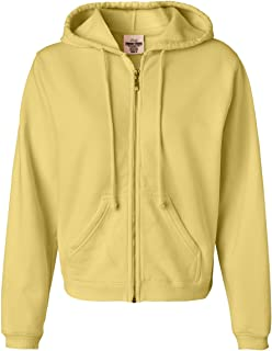 Ladies 10 oz. Garment-Dyed Full-Zip Hood