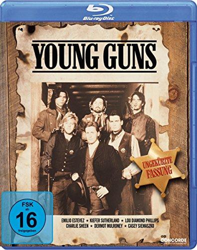 Young Guns 1 - Uncut [Blu-ray]