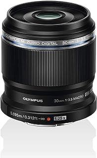 Olympus M. Zuiko siffra för Micro Four Thirds lins Bajonett svart, Svart, ED 30 mm 1:3.5