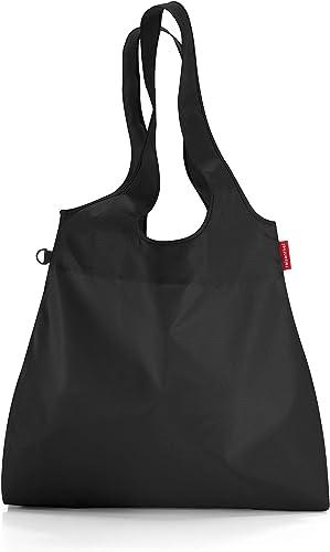 mini maxi shopper L 44 x 68 x 9 cm 22 Liter black
