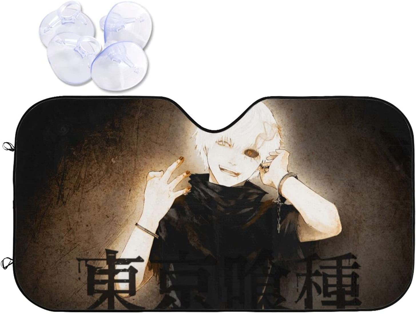 Tokyo Ghoul Car Sunshade Heat Sun Viso OFFicial mail order Import and Windshield Prevention