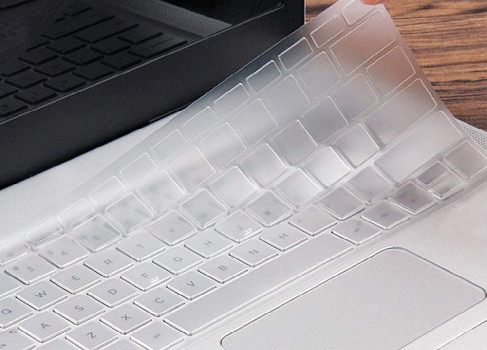 Ultra Thin Clear Keyboard Cover Skin Compatible with 12.3 Google Pixelbook with Touch-Screen 2017 Release Transparent