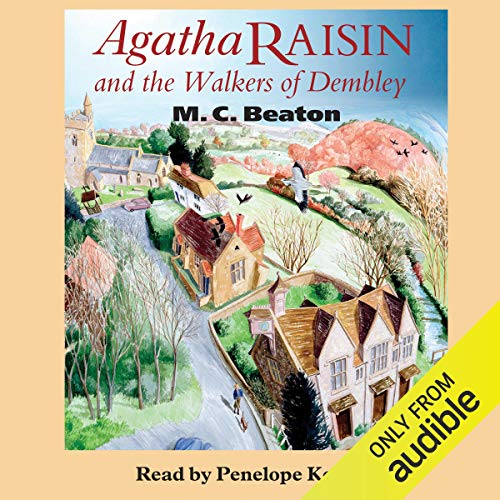 『Agatha Raisin and the Walkers of Dembley』のカバーアート