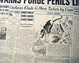 Rare Newspaper An original, printed in 1938 We make every effort to describe each item accurately and to provide photos which reflect both content and condition. Please see the item's description and photos for details, and feel free to be in touch i...