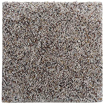 """Smart Squares Piece of Cake 9"""" x 9"""" Ultra Premium Residential Soft Carpet Tiles, Peel and Stick, Easy DIY Installation, Seamless Appearance, Made in USA (Sample, 905 Moonbeam)"""
