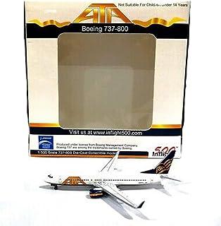 InFlight500 ATA American Trans Air Airlines 737-800 1:500 Scale REG#N319TZ Diecast Display Model