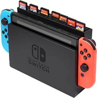 Game Cards Storage Case for Nintendo Switch Dock, Storage Box with 28 Game Card Slots for Nintendo Switch Game Card