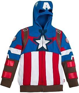 Marvel Captain America Costume Hoodie for Boys