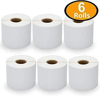 6 Rolls Dymo 30387 Compatible 2-1/3